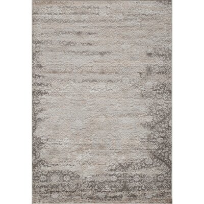 Autrey Ivory Area Rug Rug Size: Rectangle 5 x 76