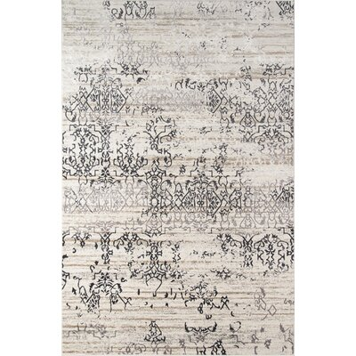 Autrey Ivory Area Rug Rug Size: Rectangle 33 x 5