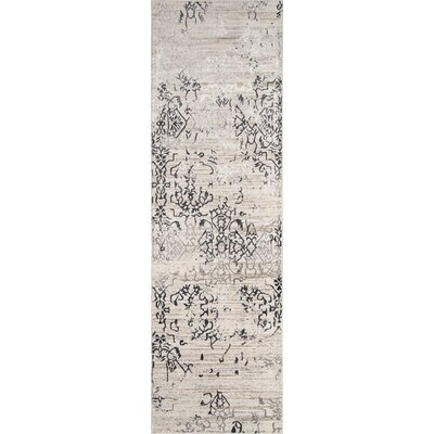 Autrey Ivory Area Rug Rug Size: Runner 23 x 76