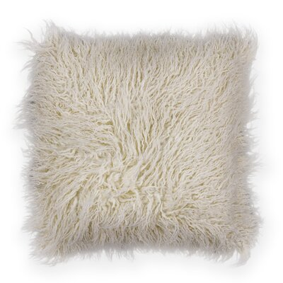 Authier Shaggy Faux Fur Throw Pillow