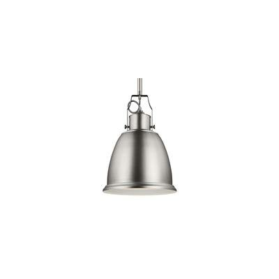 MariJo 1-Light Mini Pendant Finish: Satin Nickel