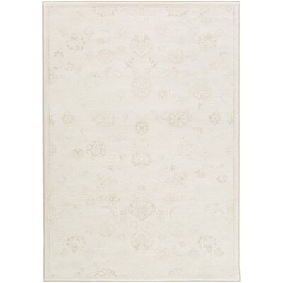 Mishti Neutral Area Rug Rug Size: 53 x 76