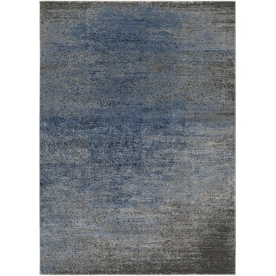 Hatboro Blue/Gray Area Rug Rug Size: Rectangle 710 x 102