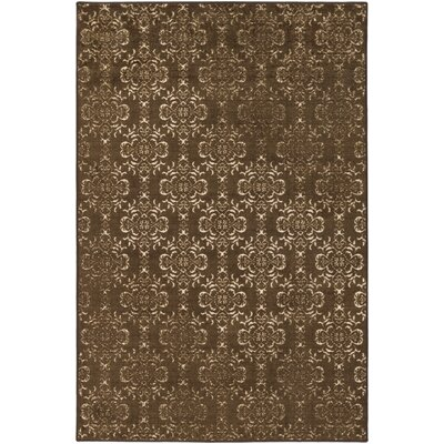 Huntingdon Brown Area Rug Rug Size: Rectangle 5 x 8