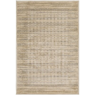 Jeddo Tibetan Brown Area Rug Rug Size: Rectangle 53 x 76