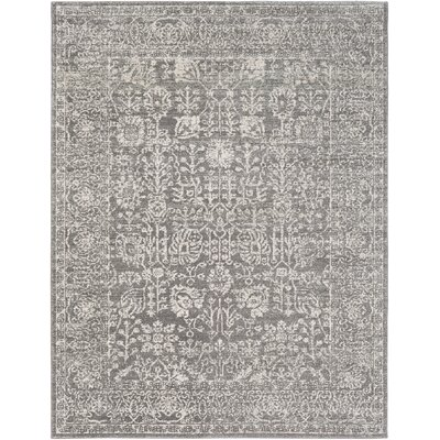 Hannah Gray Area Rug Rug Size: Rectangle 710 x 103