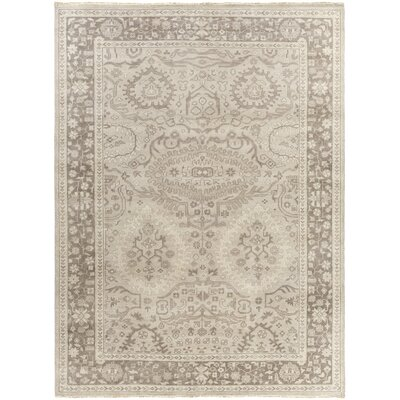 Karlee Gray/Taupe Area Rug Rug Size: Rectangle 56 x 86