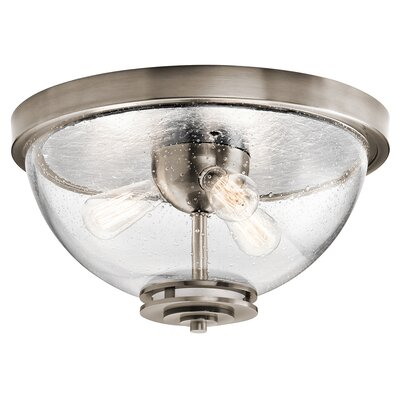 Sufiyan 3-Light Flush Mount Finish: Classic Pewter