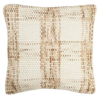 Leetsdale Woven Plaid Throw Pillow