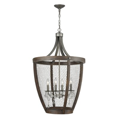 Shaili Basket 4-Light Pendant