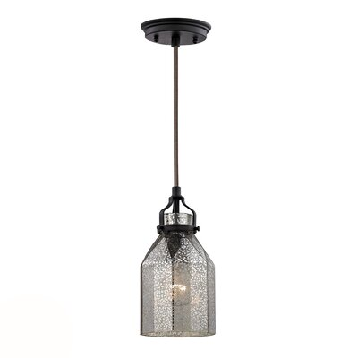 Orofino 1-Light Mini Pendant II Finish: Oil Rubbed Bronze