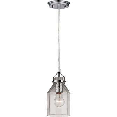Orofino 1-Light Mini Pendant II Finish: Polished Chrome