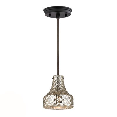 Orofino 1-Light Mini Pendant Finish: Oil Rubbed Bronze