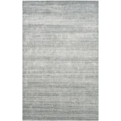 Archibald Hand-Woven Ash Area Rug Rug Size: Rectangle 6 x 9