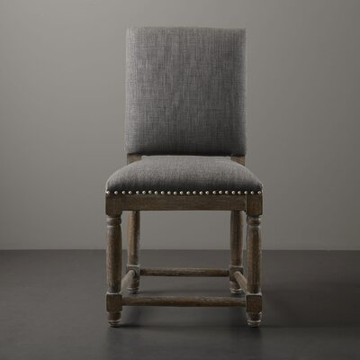 Remy Side Chair Upholstery: Gray