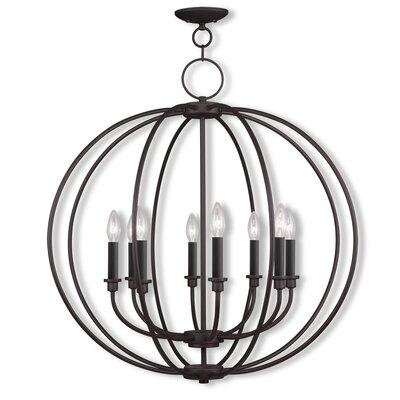 Naomie 8-Light Globe Pendant Finish: Bronze