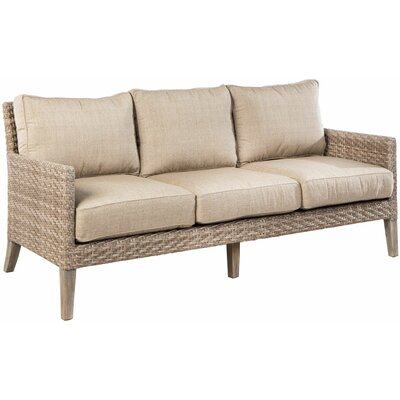Nishant Deep Seating Sofa with Cushions