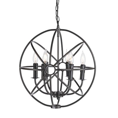 Dulcie Orb 6-Light Foyer Pendant