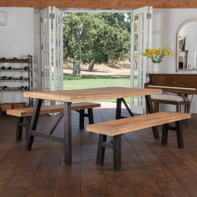 Guillaume 3 Piece Dining Set
