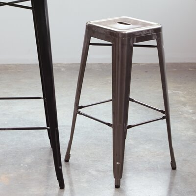 Isabel 30 Bar Stool Finish: Gunmetal