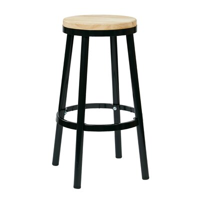 Isabel 30 Bar Stool Finish: Black