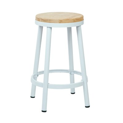 Isabel 26 Bar Stool Finish: White