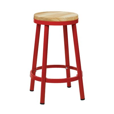 Isabel 26 Bar Stool Finish: Red