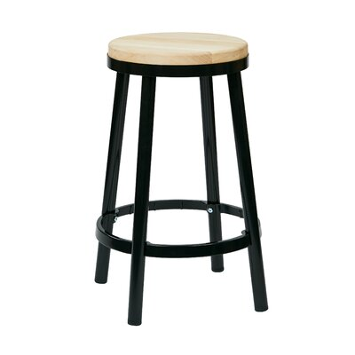 Isabel 26 Bar Stool Finish: Black