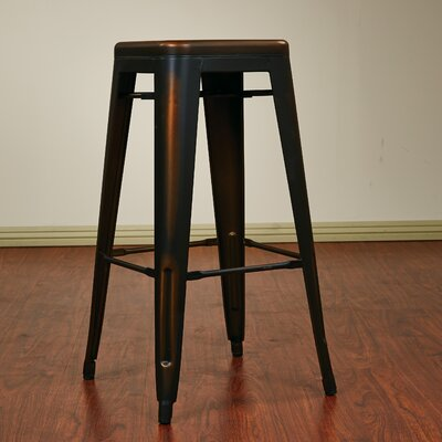 Isabel 30 inch Bar Stool Finish: Antique Copper