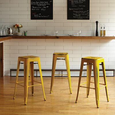 Isabel 30 Bar Stool Finish: Antique Yellow
