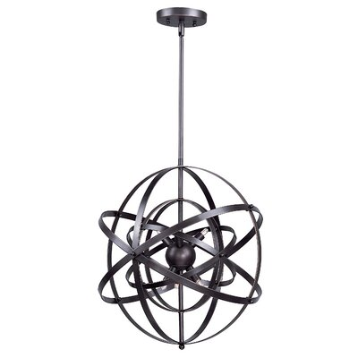 Hambrick 9-Light Pendant Finish: Bronze Rupert