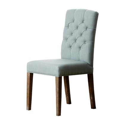 Isidore Parsons Chair Upholstery: Blue