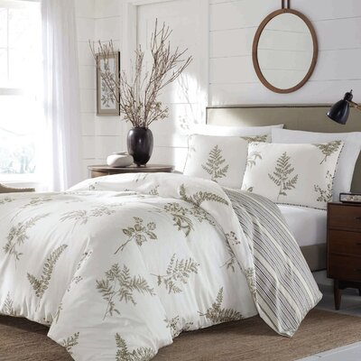 Hailey 3 Piece Duvet Set Size: King
