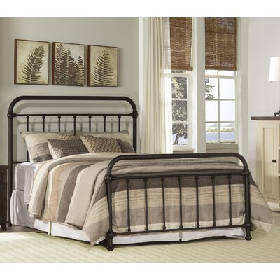Harlow Metal Panel Bed Size: Twin, Finish: Dark Bronze