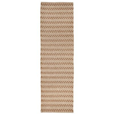 Havana Hand-Woven Natural Indoor/Outdoor Area Rug Rug Size: Runner 2 x 8