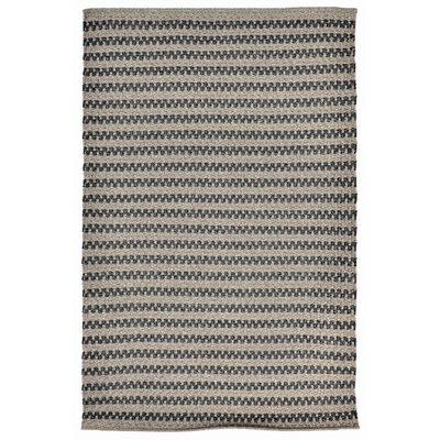 Havana Hand-Woven Gray Indoor/Outdoor Area Rug Rug Size: 83 x 116