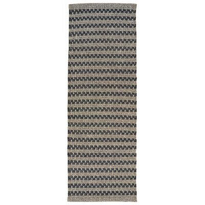 Havana Hand-Woven Gray Indoor/Outdoor Area Rug Rug Size: Runner 2 x 8