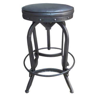 Fiona Adjustable Height Swivel Bar Stool