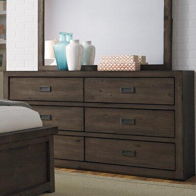 Eaucourt 6 Drawer Dresser