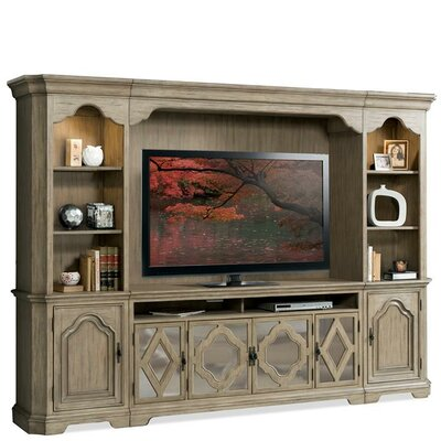 Virgouda 65.5 TV Stand Color: Sun-drenched Acacia