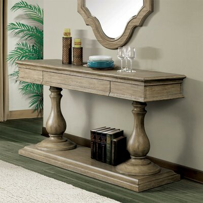 Parman Pedestal Console Table