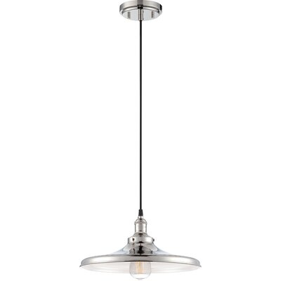 Sandy Springs 1-Light Mini Pendant Finish: Polished Nickel