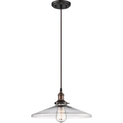 Sandy Springs 1-Light Mini Pendant Finish: Rustic Bronze