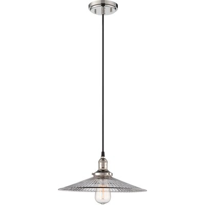 Sandy Springs 1-Light Pendant Finish: Polished Nickel