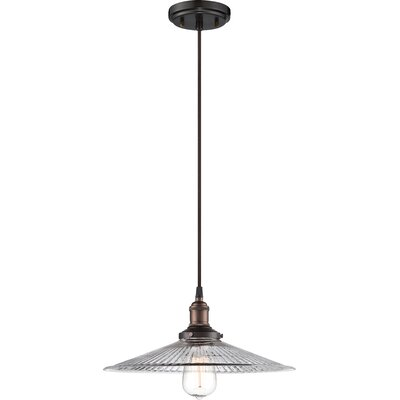Sandy Springs 1-Light Pendant Finish: Rustic Bronze
