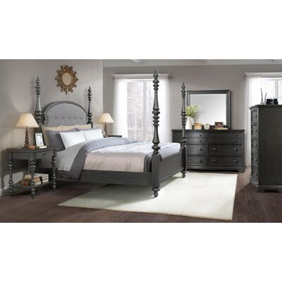 Eau Claire Upholstered Poster Customizable Bedroom Set