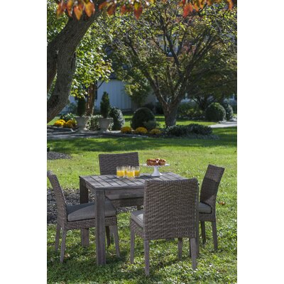 Nishant 5 Piece Dining Set with Cushion