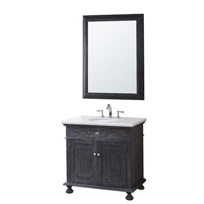 Franklin 35 Bathroom Vanity Set with Mirror