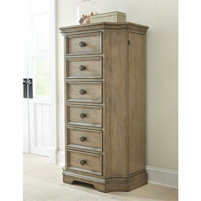 Paredes 6 Drawer Lingerie Chest