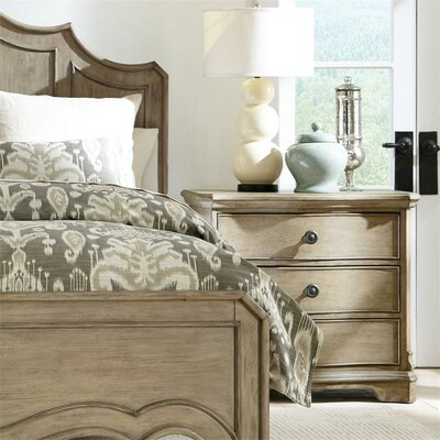 Paredes 3 Drawer Nightstand